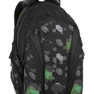Bag 8 G Black/green/gray