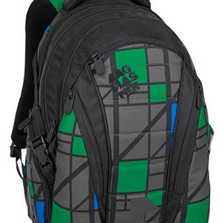 Bag 8 H Black/grey/green