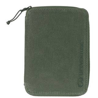 RFiD Mini Travel Wallet Olive
