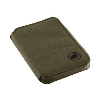 Zip Wallet Mélange Olive