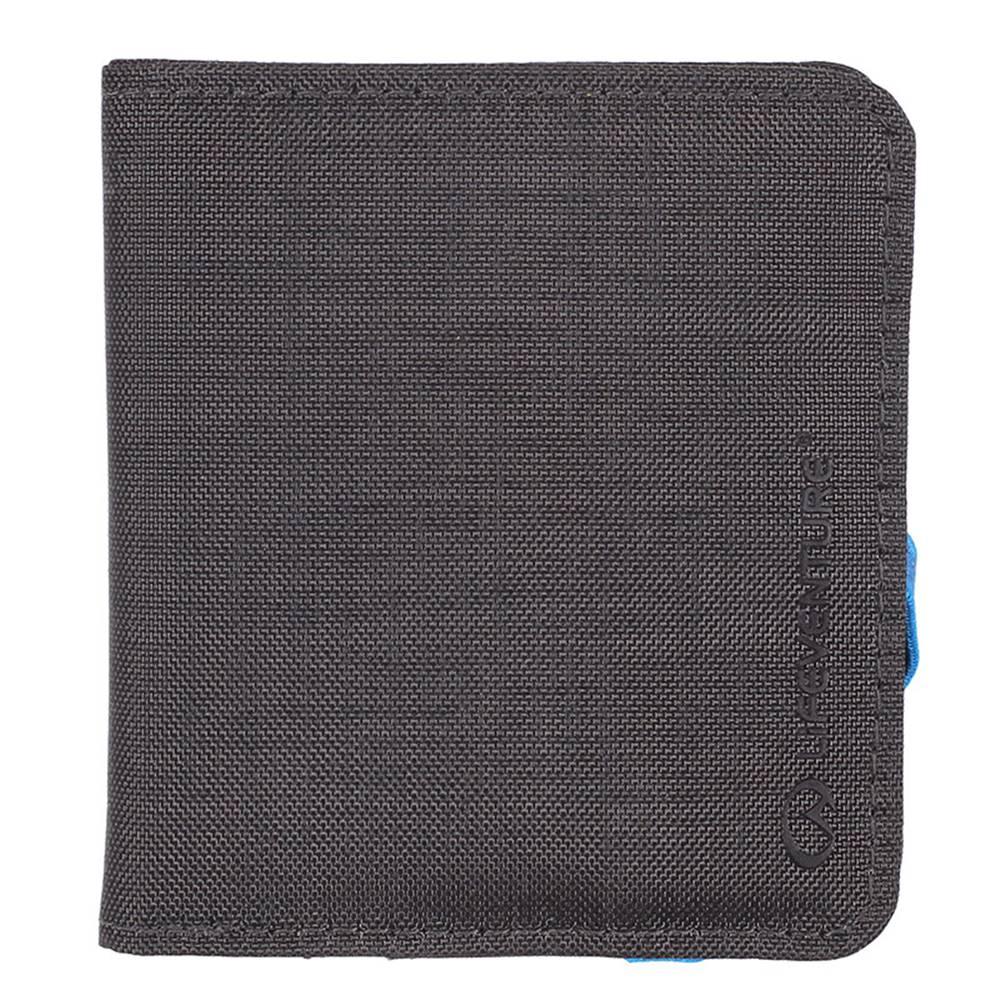Lifeventure RFiD Compact Wallet Grey