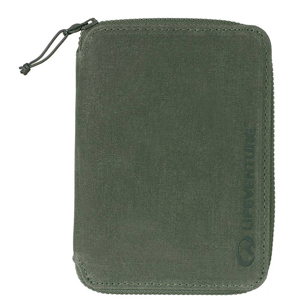 Lifeventure RFiD Mini Travel Wallet Olive