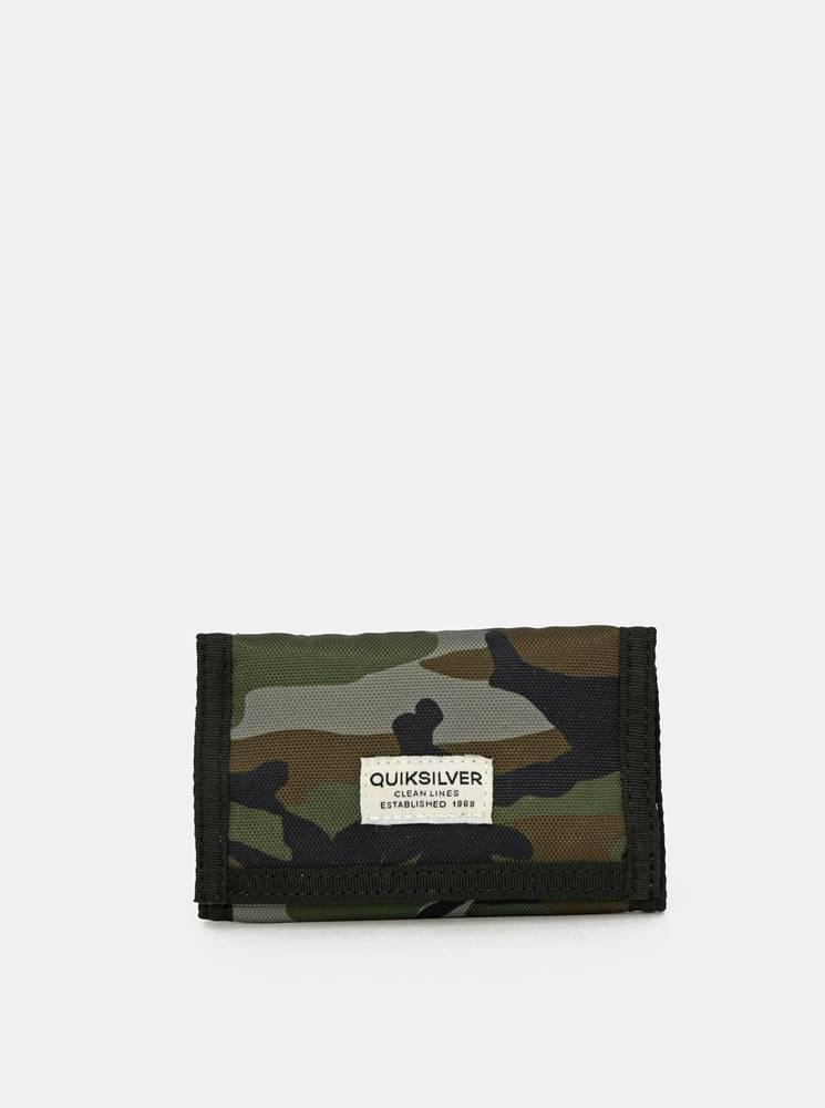Quiksilver Kaki maskáčová peňaženka Quiksilver