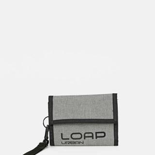 Šedá pánska peňaženka LOAP