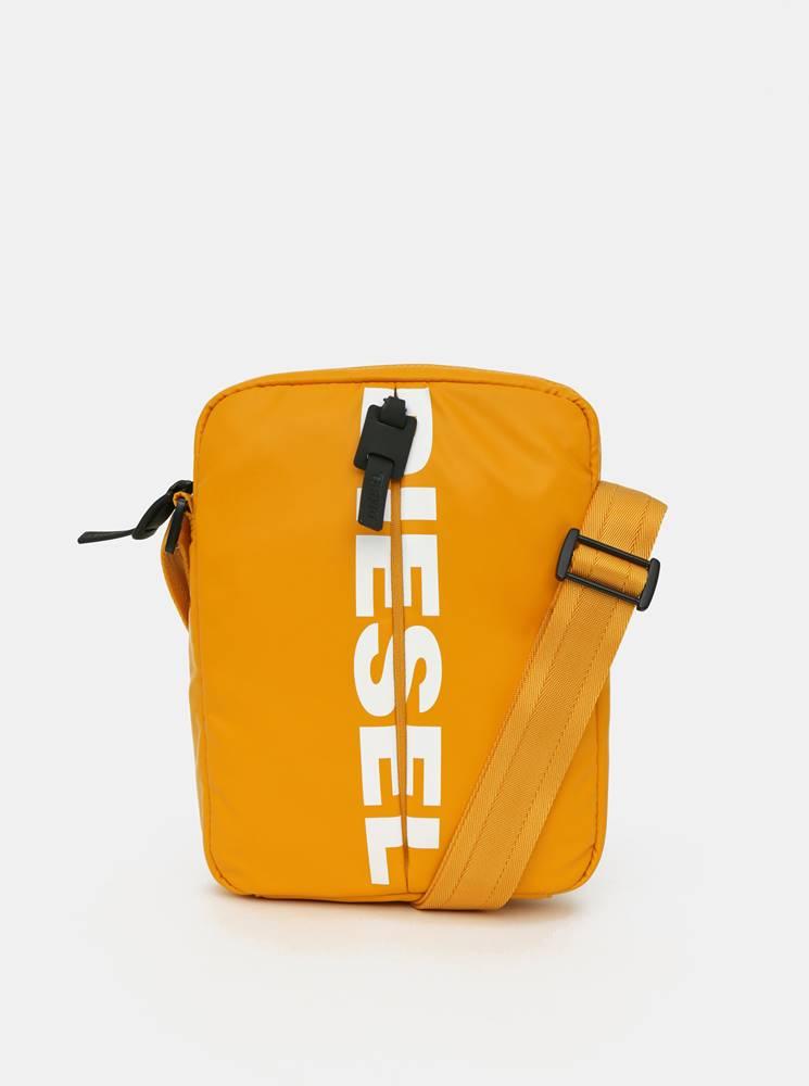 Diesel Žltá pánska crossbody taška Diesel