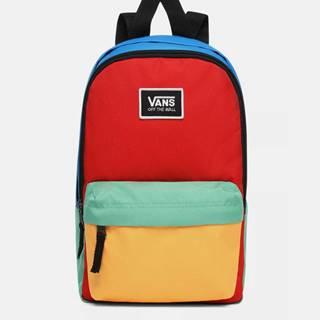Modro-červený batoh VANS
