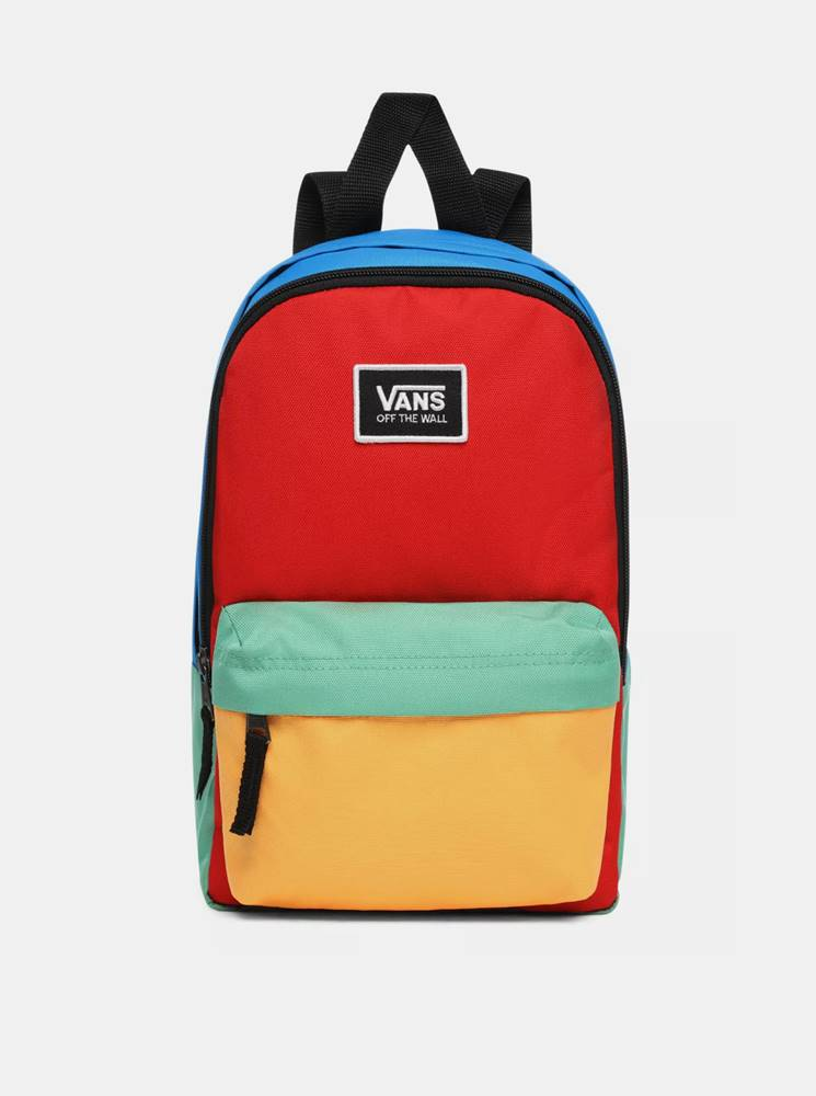 Vans Modro-červený batoh VANS
