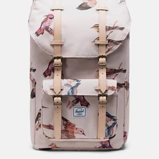 Ružový vzorovaný batoh Herschel Supply