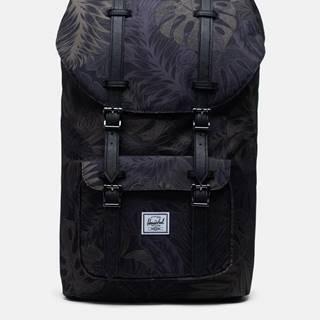 Čierny vzorovaný batoh Herschel Supply