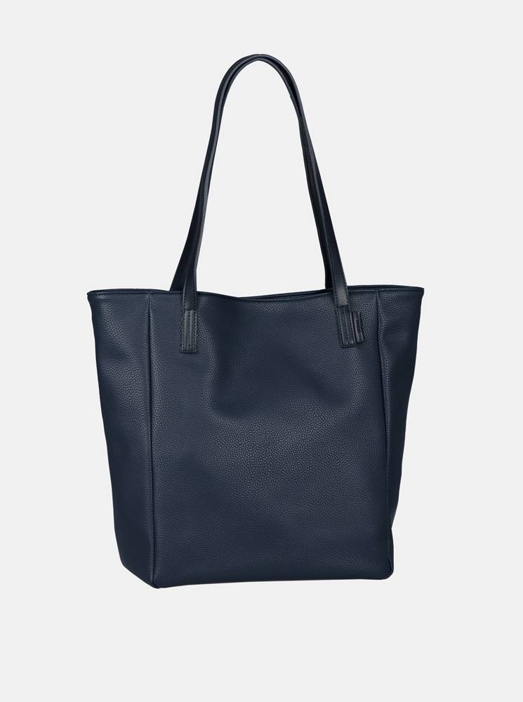 Tom Tailor Denim Tmavomodrý shopper Tom Tailor Denim