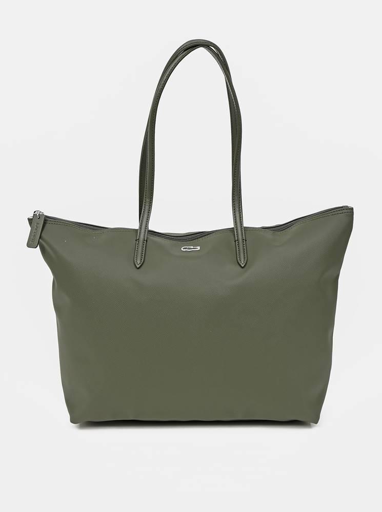 Lacoste Zelený shopper Lacoste