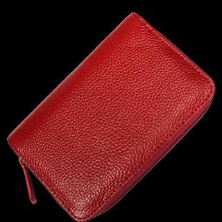 Kožená peňaženka WB009 Rosso