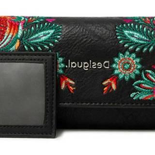 Desigual čierne peňaženka Mone Louvre Mariona