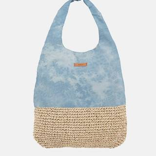 Modrá dámska batikovaná plážová taška BARTS
