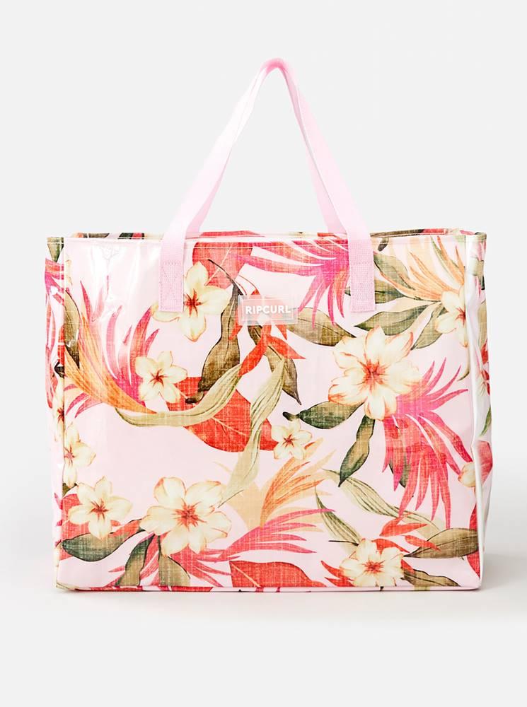 Rip Curl Ružová kvetovaná taška Rip Curl