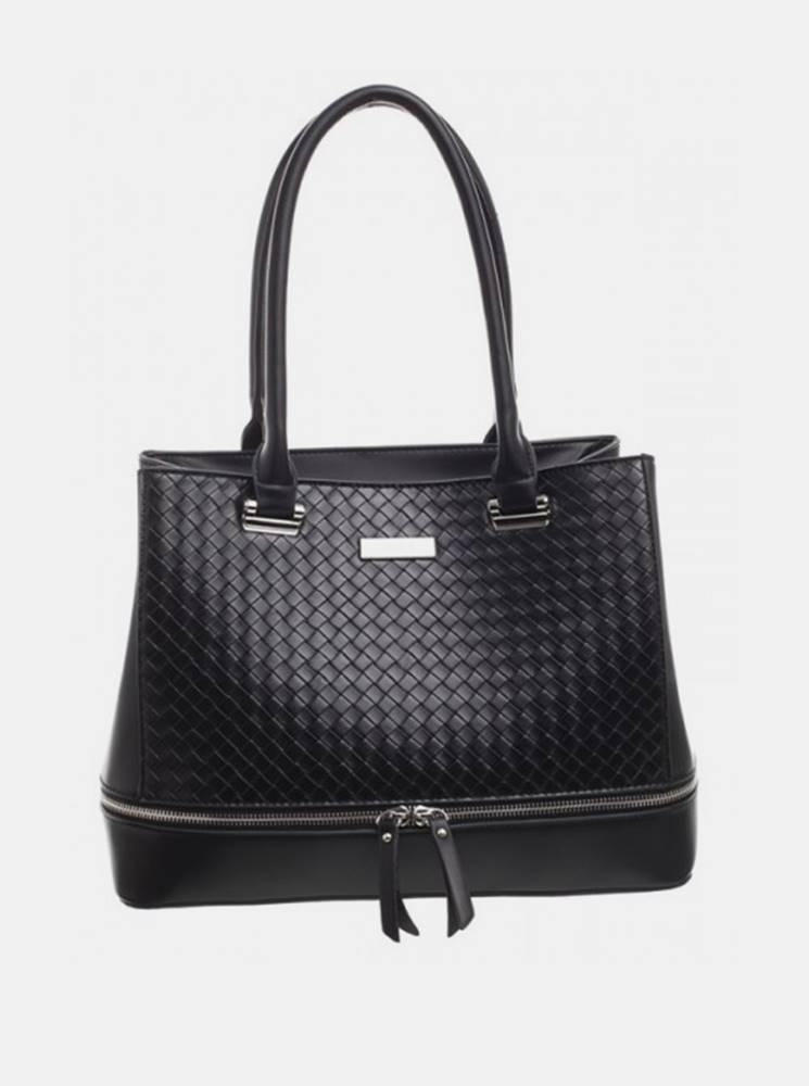 Bessie London Čierna kabelka Bessie London
