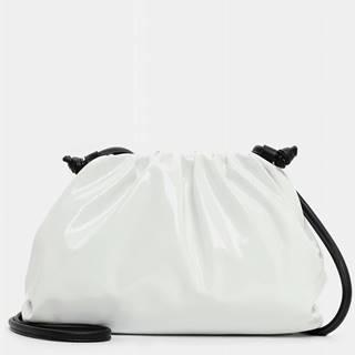 Biela malá crossbody kabelka Tamaris