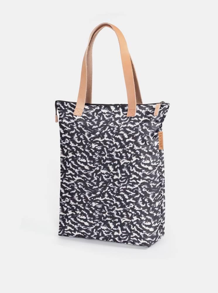 Eastpak Bílo-černá vzorovaná taška Eastpak