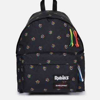 Čierny vzorovaný batoh Eastpak