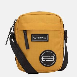 Horčicová crossbody taška Consigned
