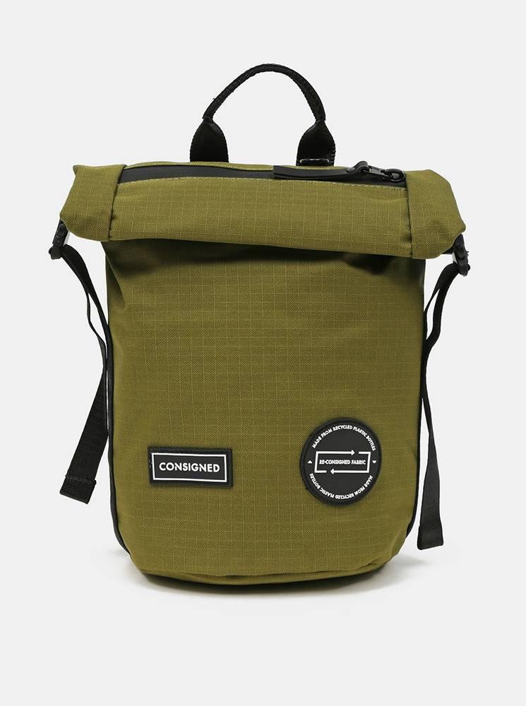 Zelený batoh/taška cez rame...