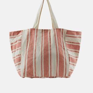 Tašky pre ženy Pieces - červená, krémová