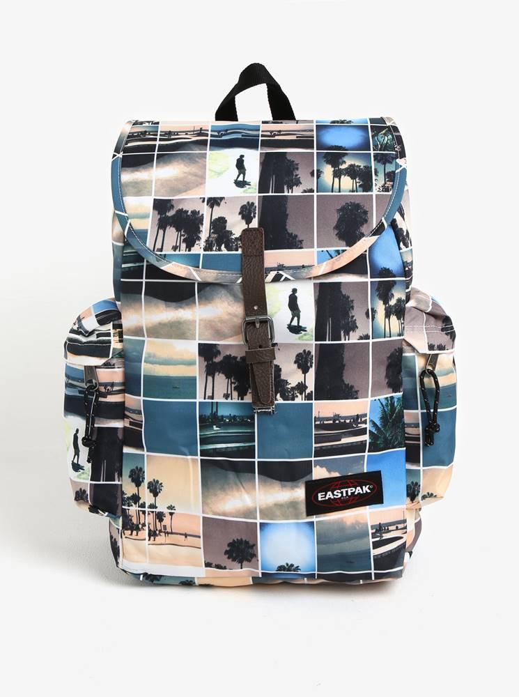 Krémový vzorovaný batoh Eas...