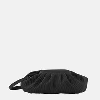 Čierna kabelka Pieces Siv