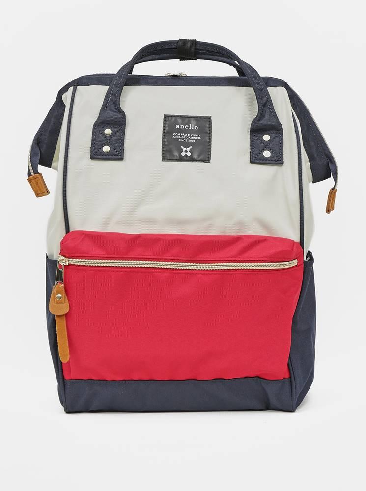 anello Červeno-modrý batoh Anello 18 l