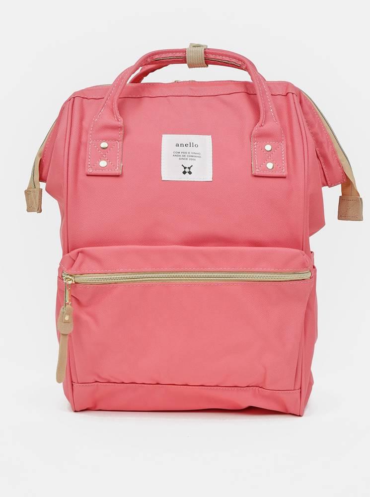 anello Ružový batoh Anello 18 l