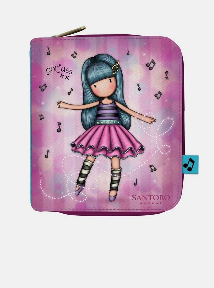 santoro Fialová malá peňaženka  Gorjuss Dancing Among The Stars