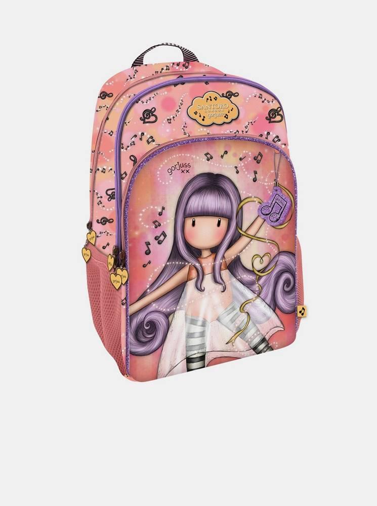 santoro Ružový batoh Santoro Gorjuss Little Dancer