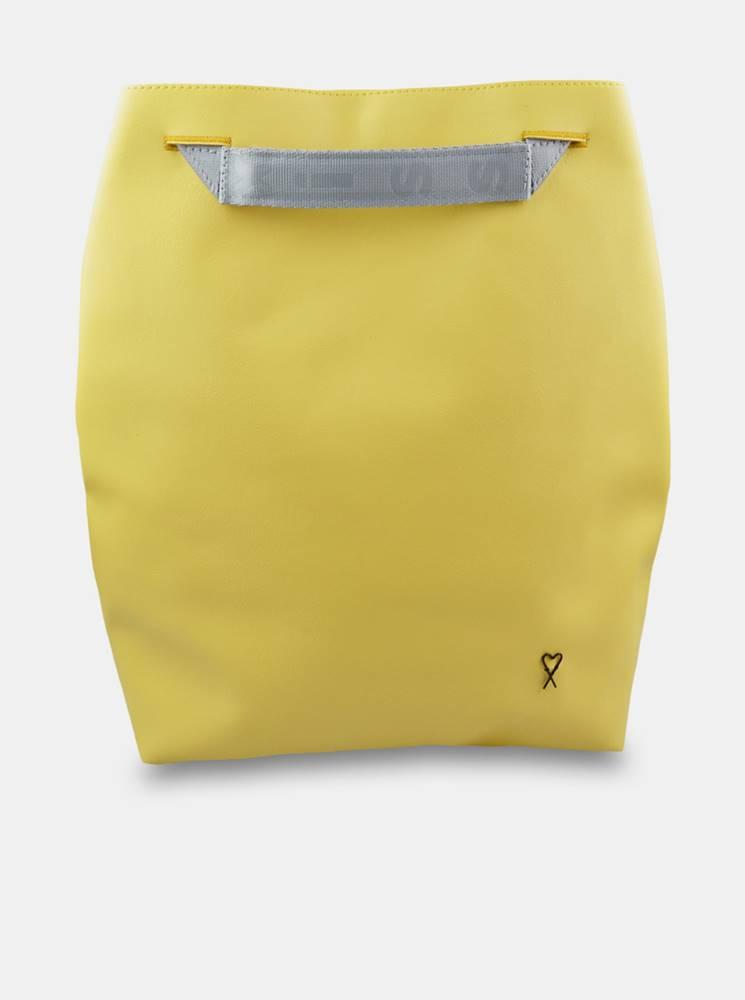 Xiss žltý mestský ruksak Ye...