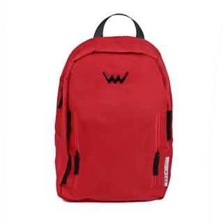 červené ruksak Villy