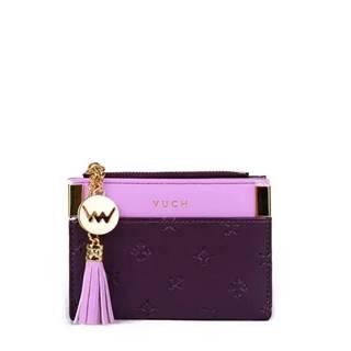 fialové malá peňaženka Mia