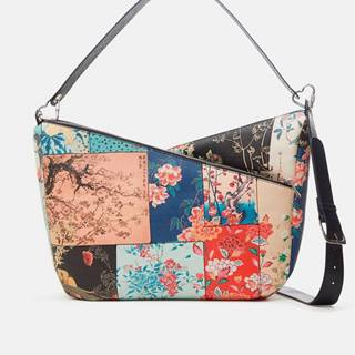 Farebná dámska kvetovaná kabelka  Magnus Harry 2.0 Maxi