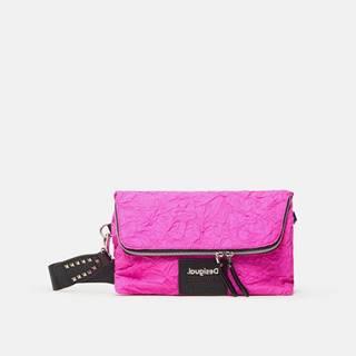 Ružová dámska crossbody kabelka Desigual Crush Venecia
