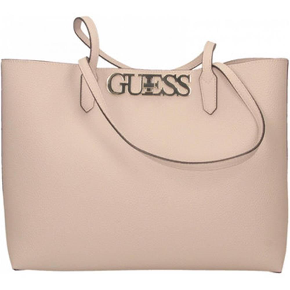 Guess Veľká nákupná taška/Nákupná taška Guess  UPTOWN CHIC BARCELONA TOTE