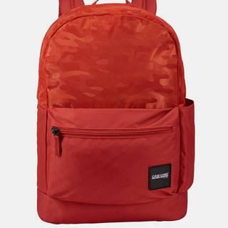 Červený vzorovaný batoh Case Logic Founder 26 l