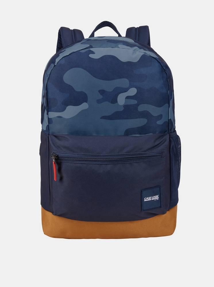 Case Logic Modrý vzorovaný batoh Case Logic Commence 24 l
