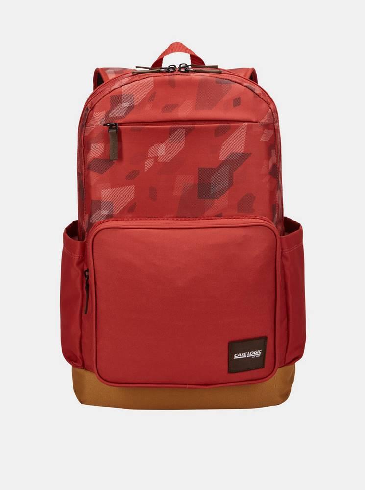 Case Logic Červený vzorovaný batoh Case Logic Query 29 l