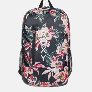 Čierny kvetovaný batoh Roxy