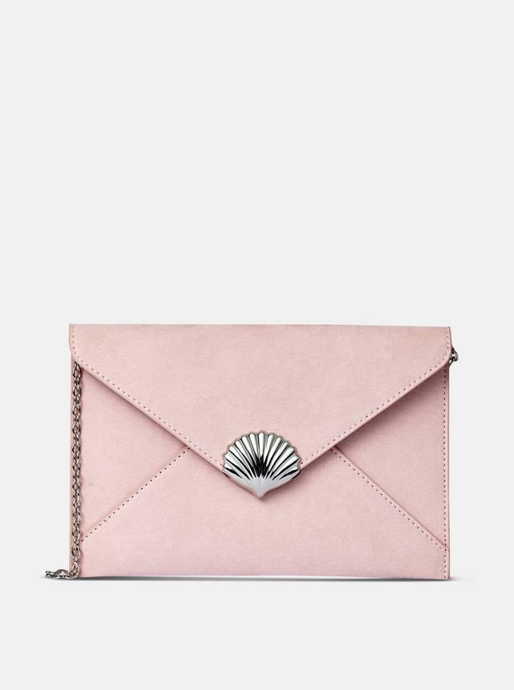 Dorothy Perkins Ružová listová kabelka Dorothy Perkins