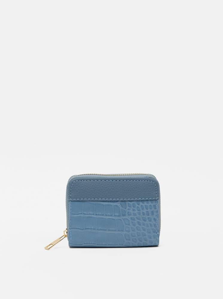 Haily´s Modrá peňaženka s krokodýlím vzorom Haily´s Olivia
