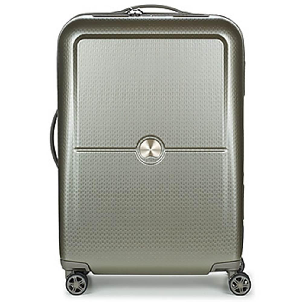 Pevné cestovné kufre Delsey...