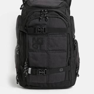 Čierno-sivý batoh s nášivkou NUGGET 28 l