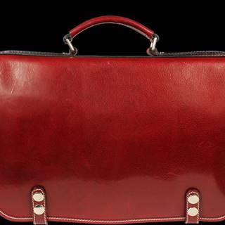 Červená pánska aktovka Malco Rossa