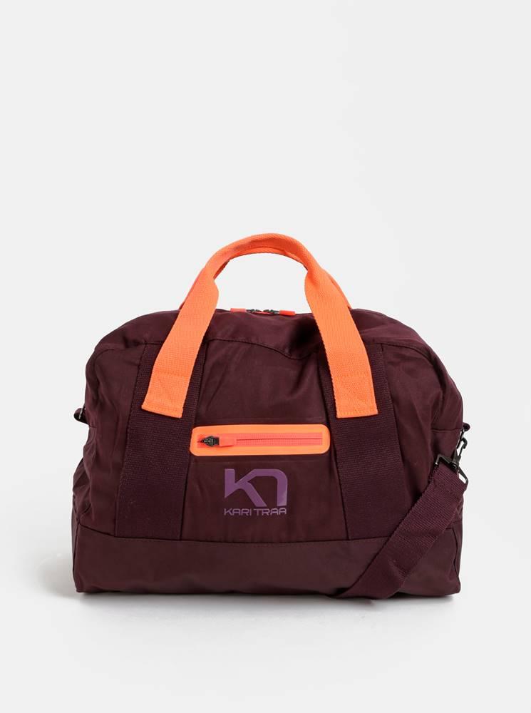Kari Traa Fialová športová taška Kari Traa Lin Bag 27 l