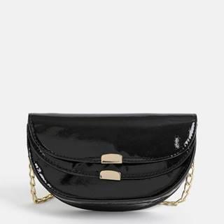 Čierna crossbody kabelka Pieces Jasmin