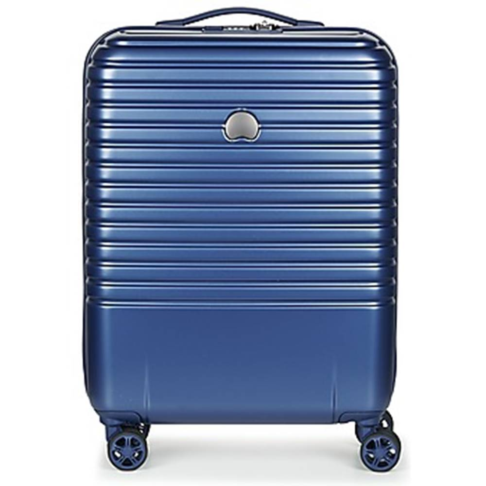 Delsey Pevné cestovné kufre Delsey  CAUMARTIN PLUS VALISE TROLLEY CABINE SLIM 4 DOUBLES ROUES 55 CM